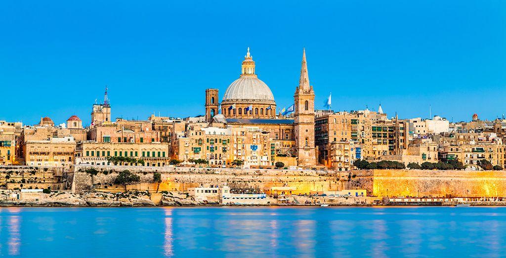 Visit the historic Maltese capital of Valleta