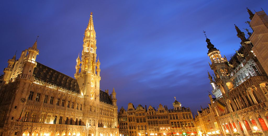And the famous Grand Place