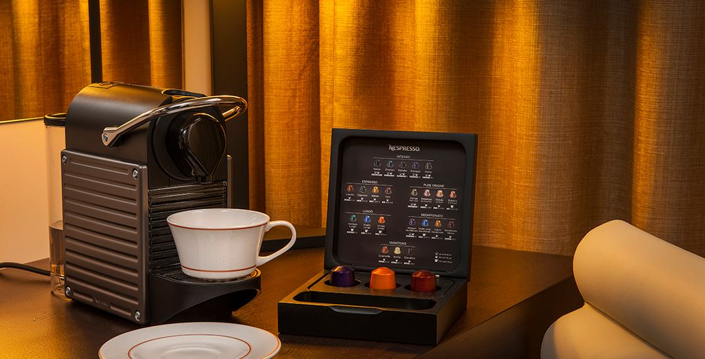 With your very own Nespresso machine