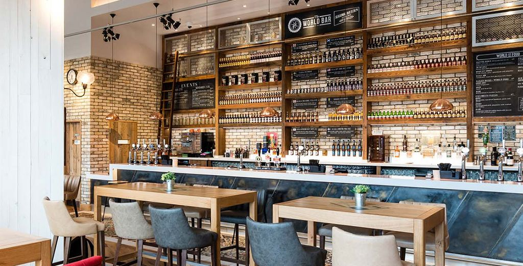 The best craft beer experience in the Midlands can be found within the walls of the Genting Hotel