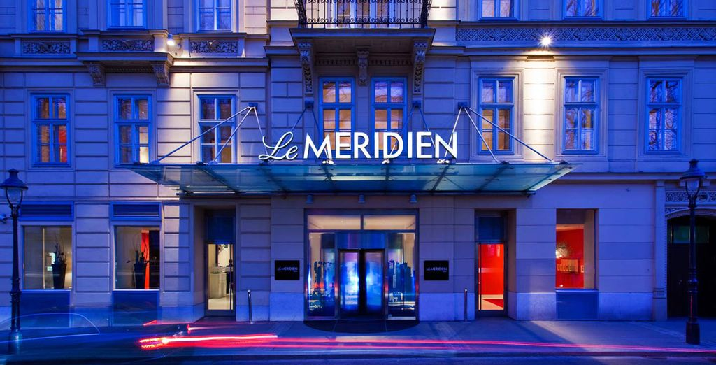 At this super stylish 5* Le Meridien