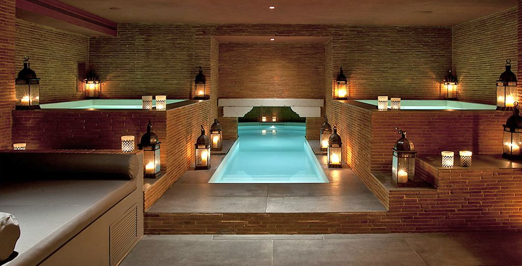 Our members have free access to the spa and pool