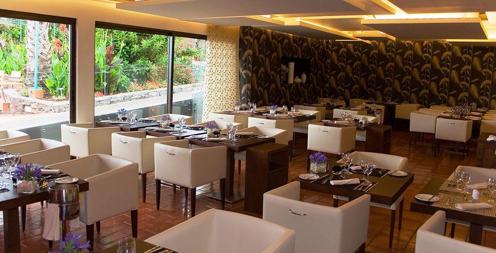 And a range of elegant restaurants