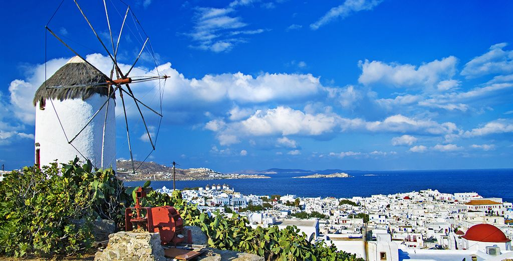 On the chic island of Mykonos