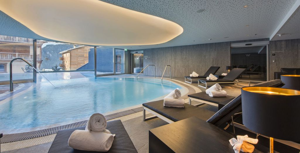 Or take a dip in the spa pool