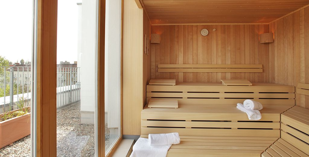 Before retreating to the sauna - here you can find your inner peace