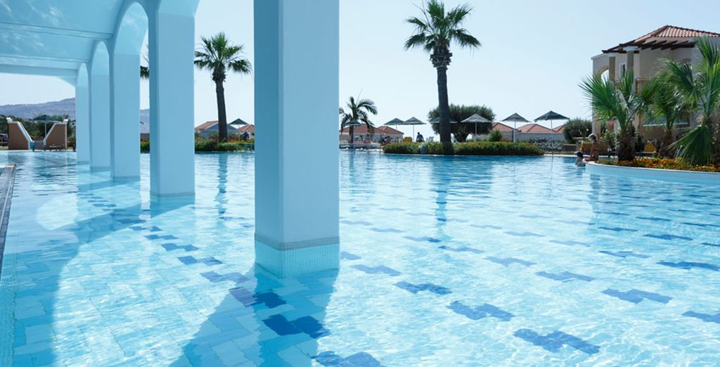 Discover the stunning pool
