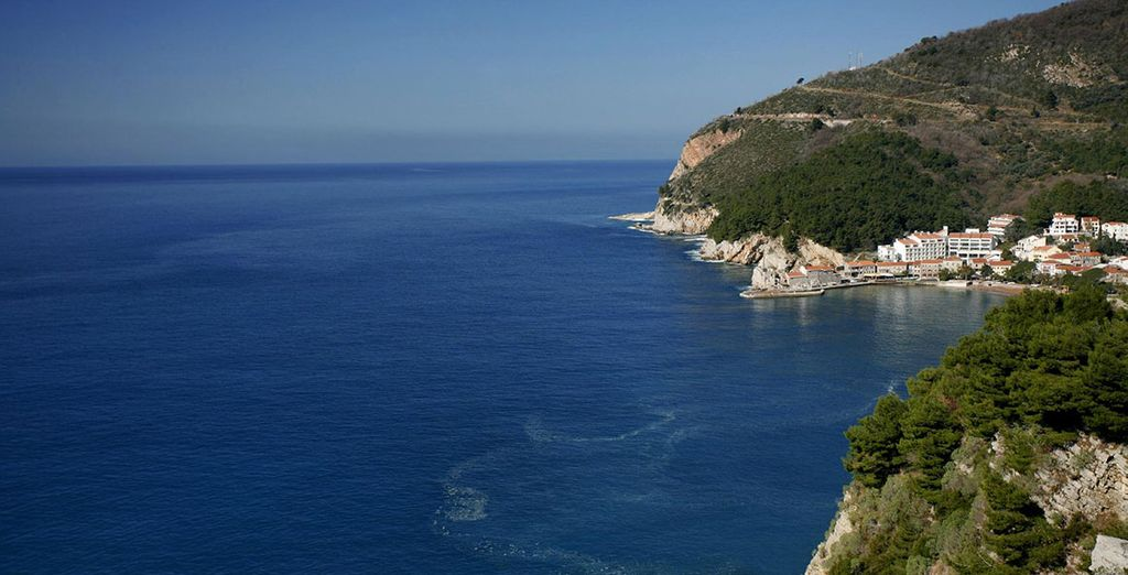 Located wonderfully at the Montenegrin Riviera in Petrovac