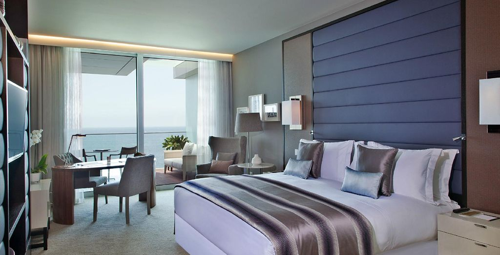 Or an Ocean View Deluxe King Room