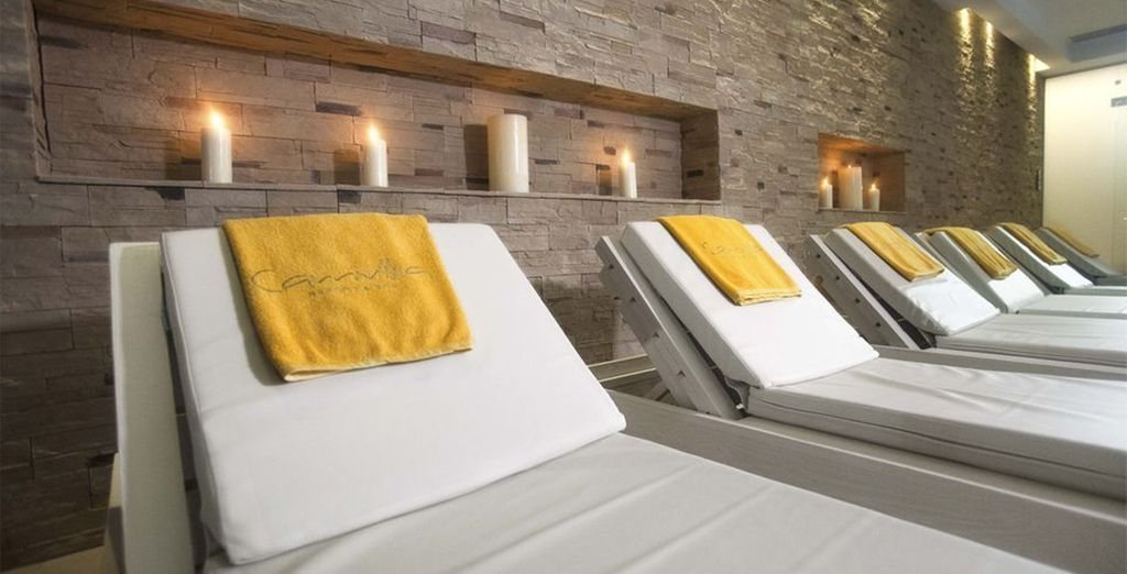 Or unwind at the spa