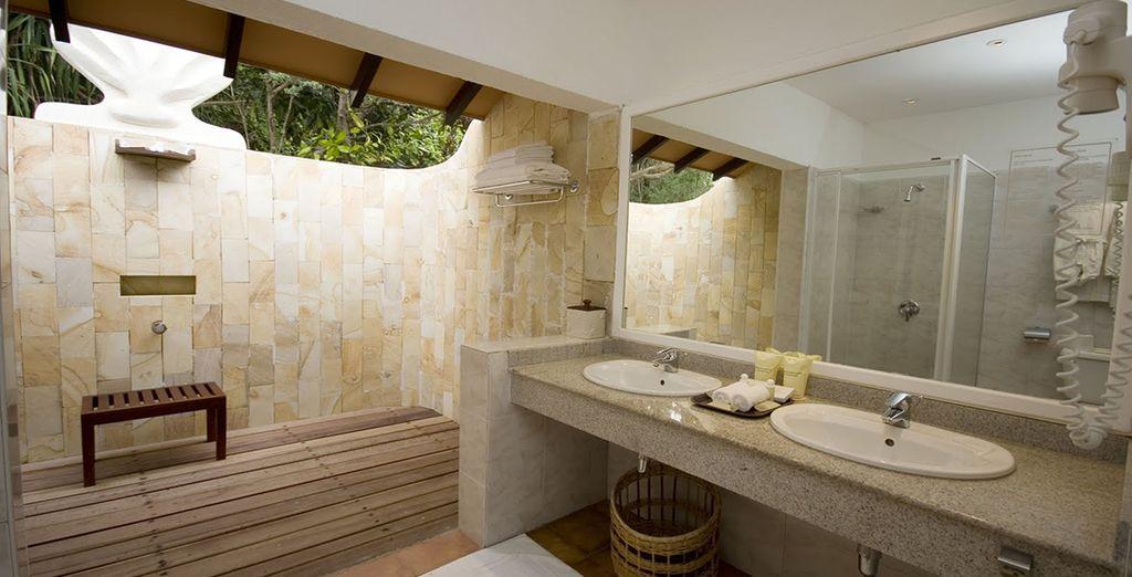 As well as modern amenities