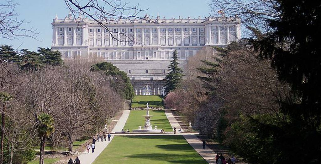 Admire the Royal Palace from the comfort of your room