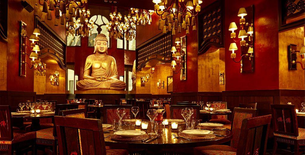 Welcome to the sensational Buddha Bar Hotel