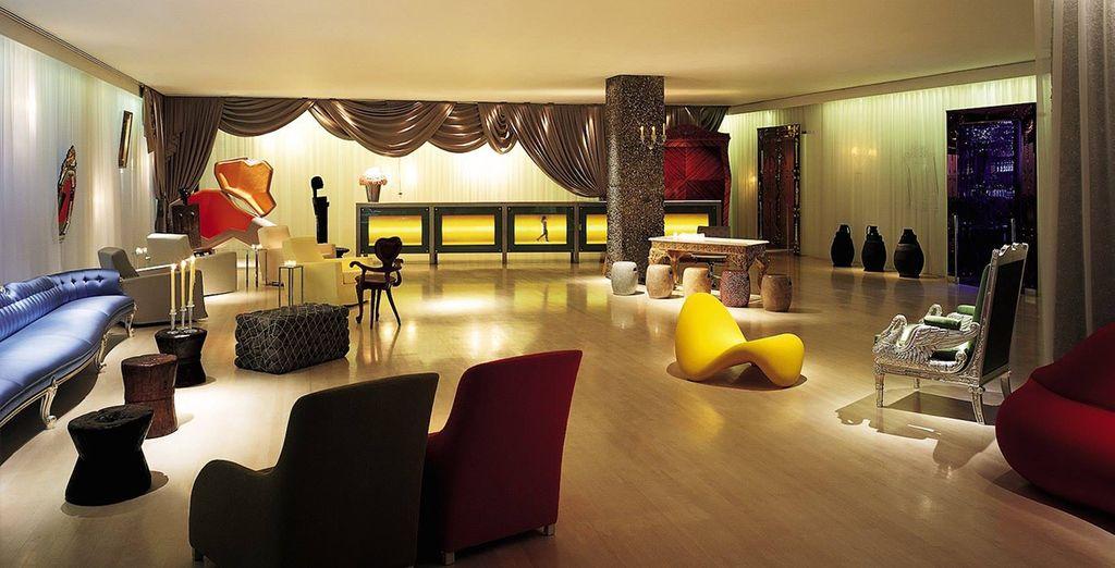 A lavish and striking London hotel