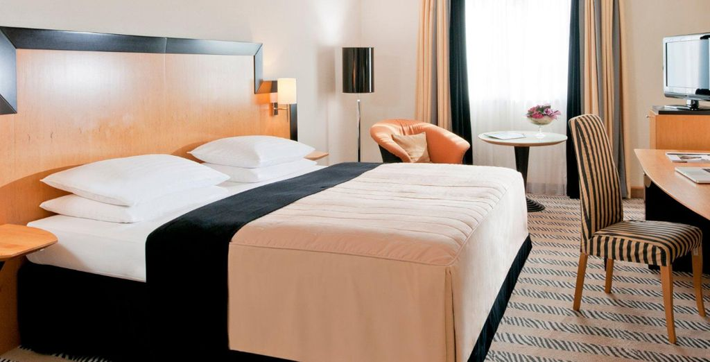 Our members will also receive a complimentary room upgrade