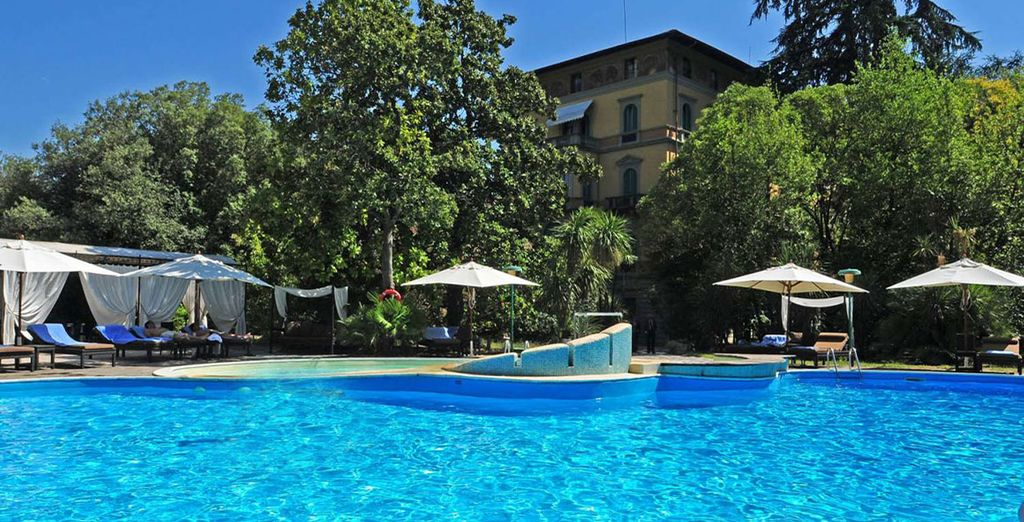Prepare to relax in an elegant, Tuscan sanctuary - Grand Hotel & La Pace 5* Montecatini-Terme