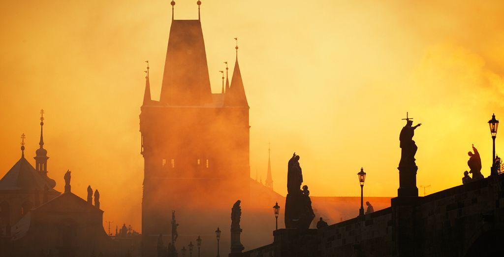 The fairytale-esque city of Prague is a true delight to visit... - Hotel Klarov 4* Prague