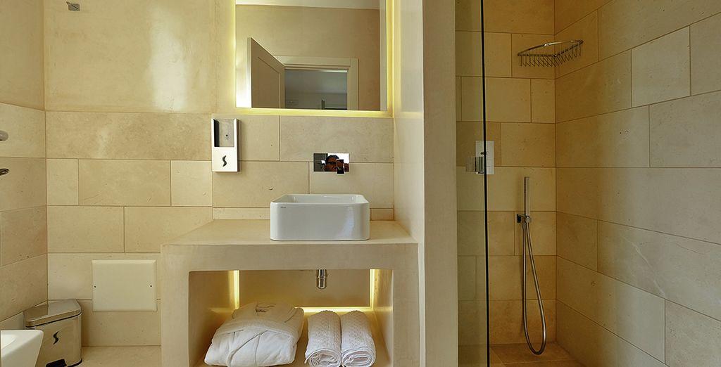 In an elegant Superior Room