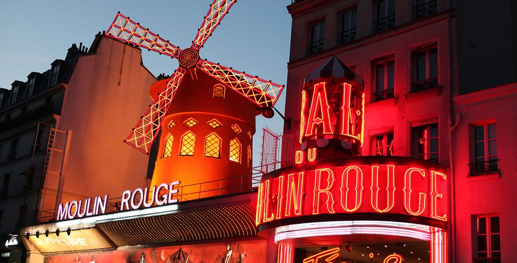And iconic sites, such as the Moulin Rouge