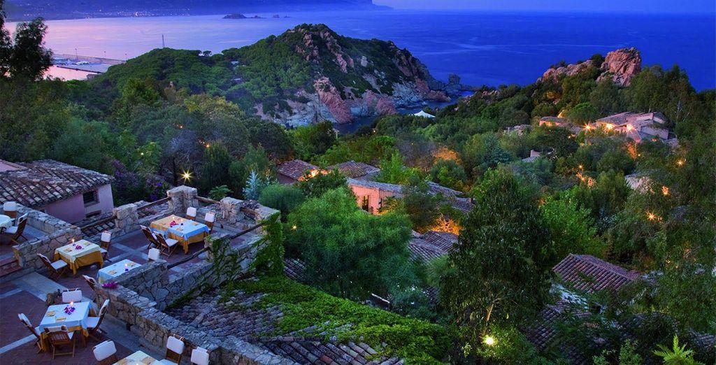 Enjoy stunning views of the rugged Sardinian coastline