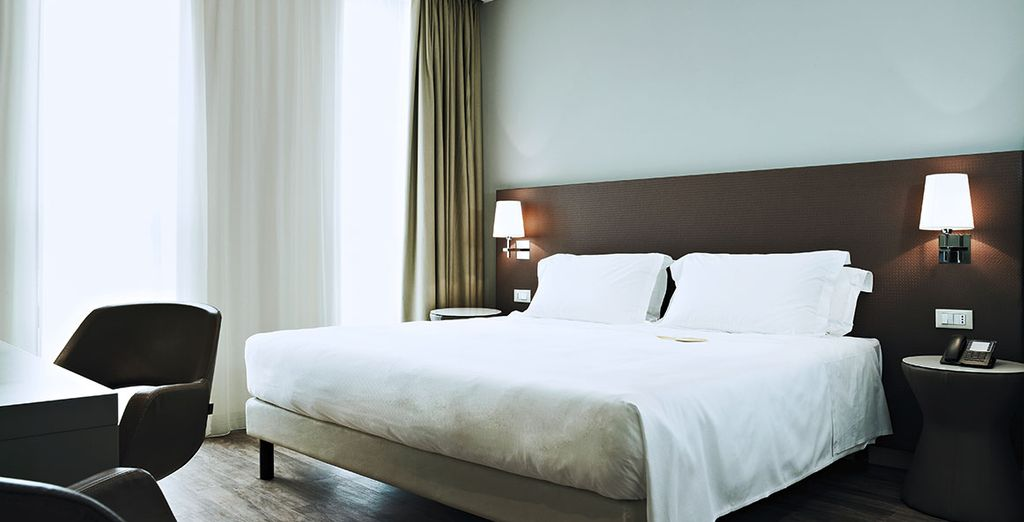 Our members will stay in comfortable Deluxe Rooms