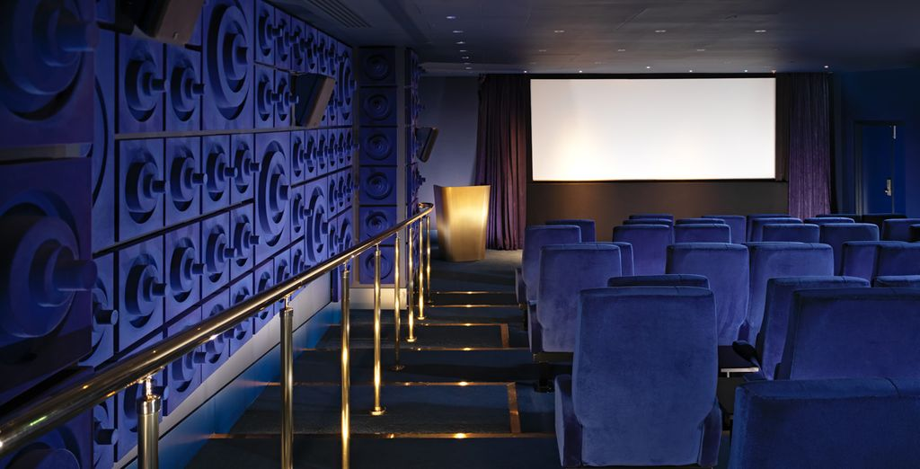 Watch a classic in the hotel's private cinema