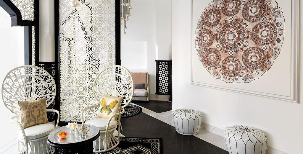 Fuse minimalist modernity with bohemian charm