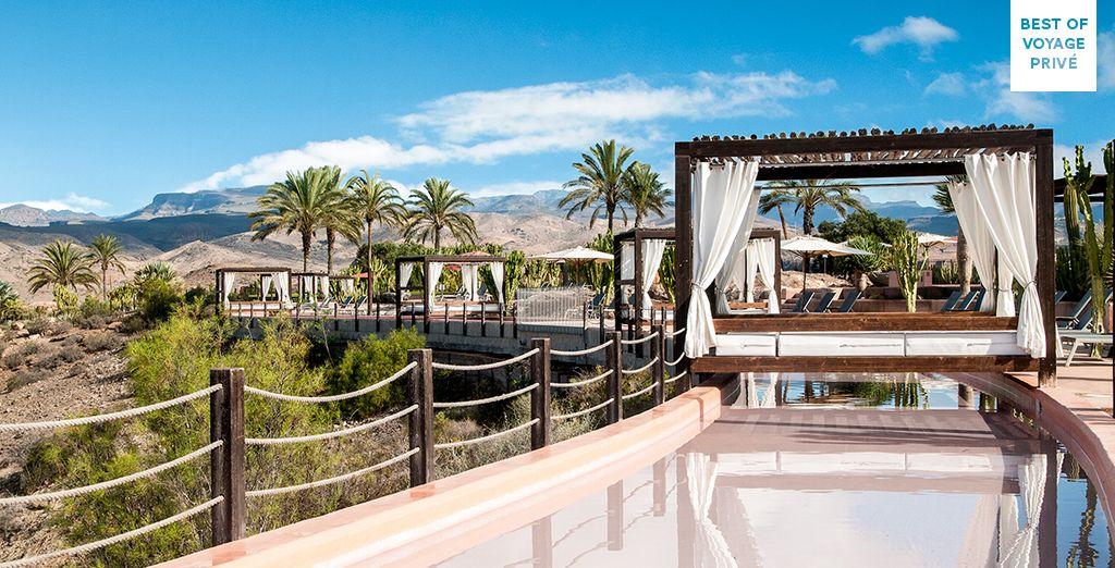Enjoy the dramatic scenery of Gran Canaria - Sheraton Salobre 5* Maspalomas