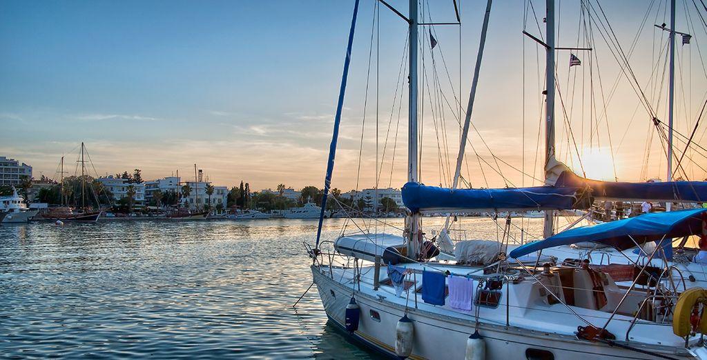 On the stunning island of Kos