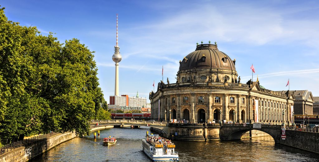 And discover the sights of one of Europe's greatest treasures, Berlin!