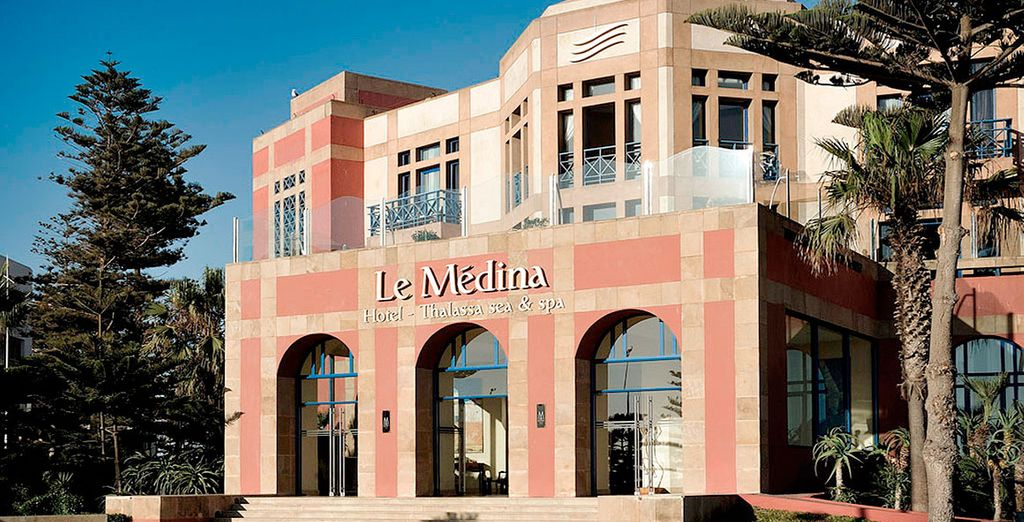 Welcome to Le Medina Essaouira Hotel Thalassa Sea & Spa M Gallery Collection 5*