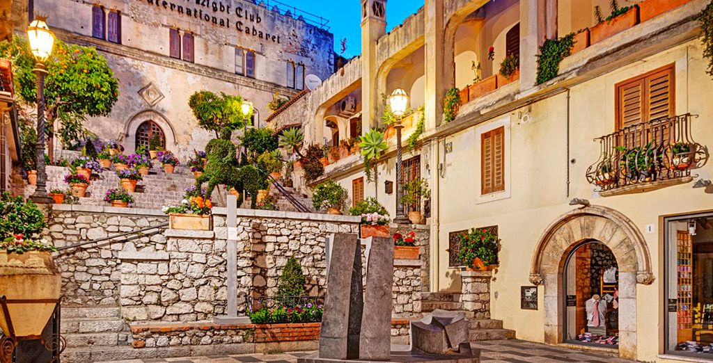Do not forget to visit the magical city of Taormina