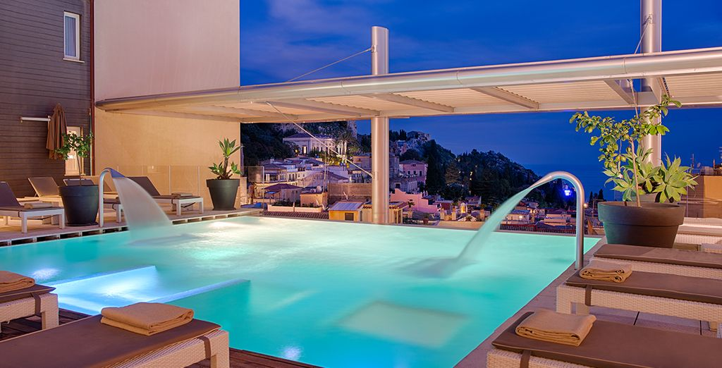 Great views and a sensational spa