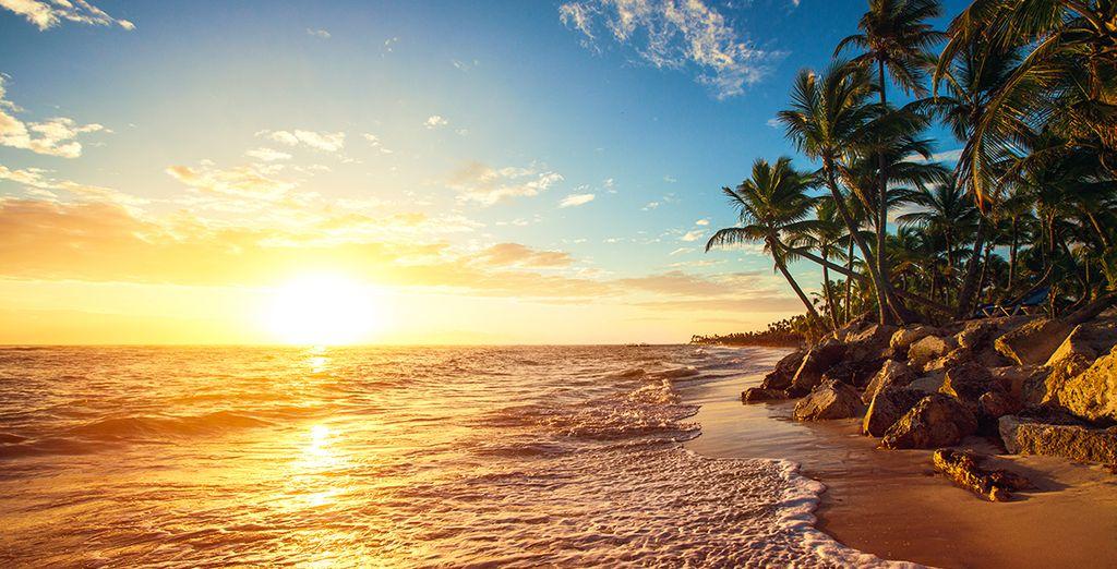 Walk along golden sandy beaches and feel the gentle sea breeze