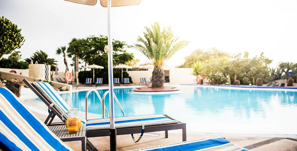 Relax by one of the 3 gorgeous swimming pools