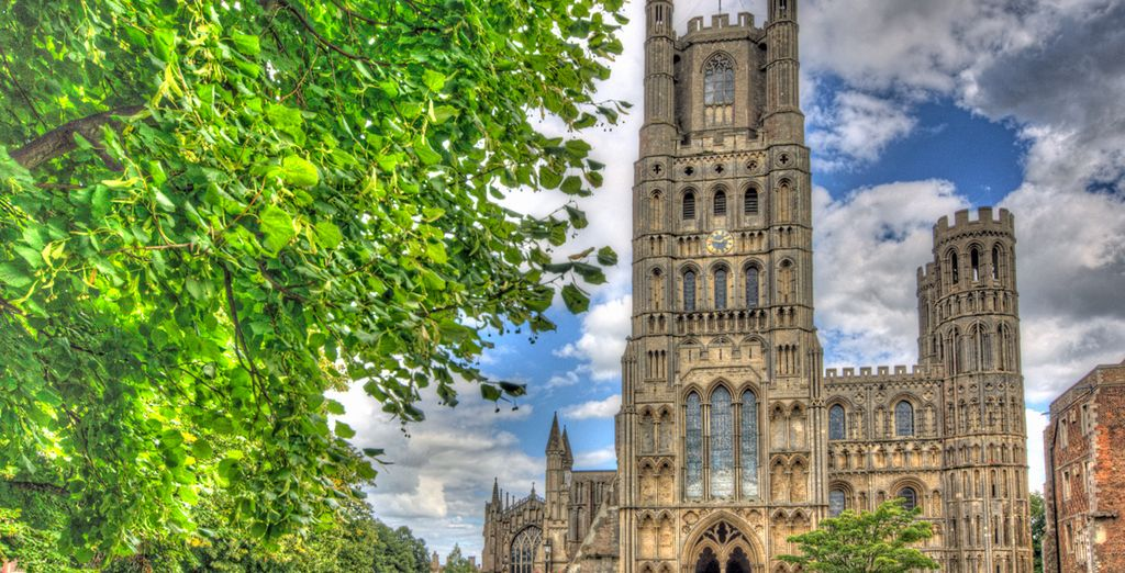 Your hotel is just minutes away from Ely Cathedral