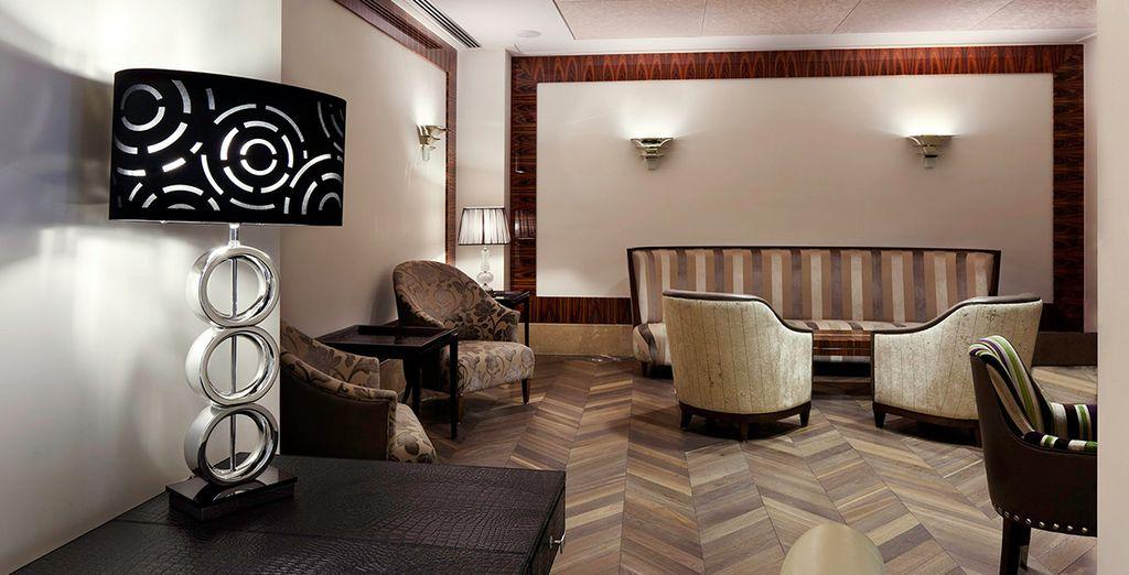 Where minimalist, art deco-inspired interiors welcome you...