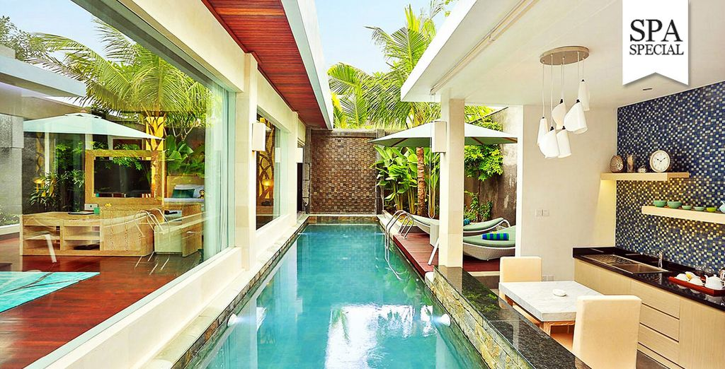 Take a morning dip in your pool