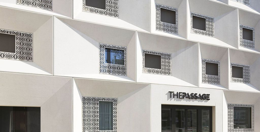 Nestled on the historic walls of the city is your stylish design hotel