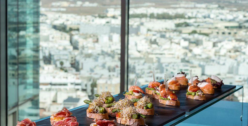 So you can indulge in fresh Mediterranean cuisine