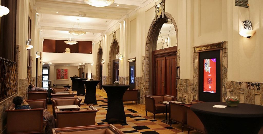 Stay at Crowne Plaza Brussels