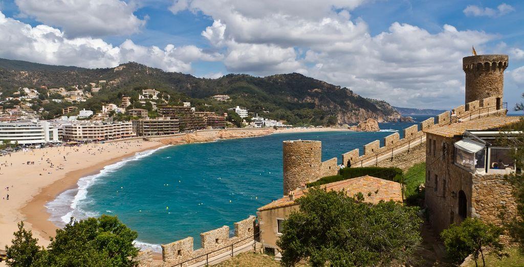 Tossa de Mar is home to three beaches