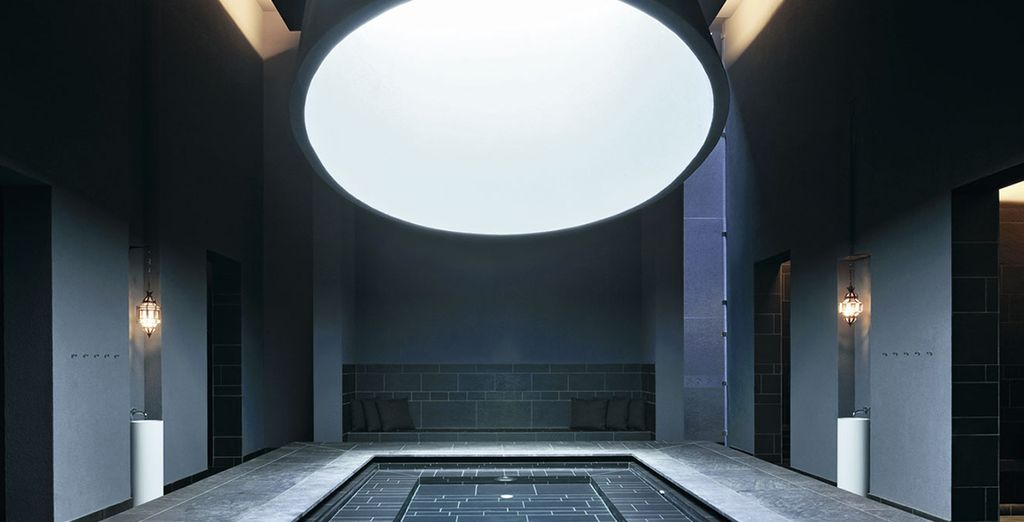 Or rejuvenate in the cutting edge design of the hammam...