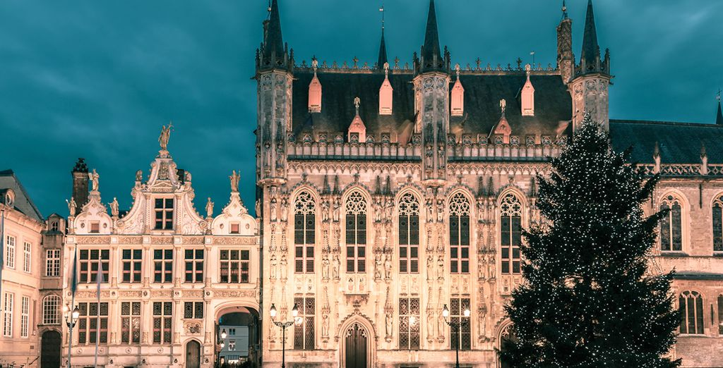Bruges is a magical city to visit during this time