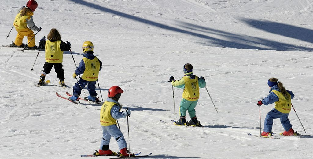 There are slopes for all abilities
