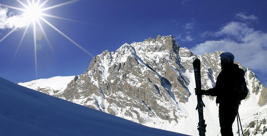 Enjoy the rugged mountain terrain