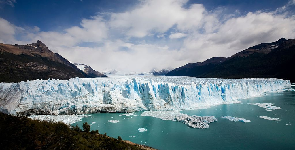 After the excitement of the city, Perito Moreno Glacier will be a breath of fresh air