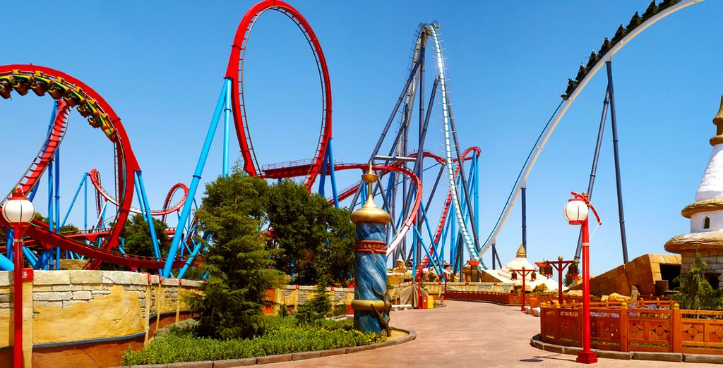 Discover the thrills of Port Aventura World
