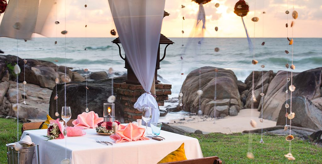 Or splash out on romantic private dining