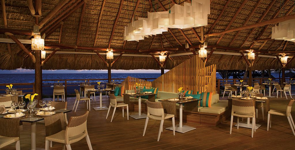 Delight in limitless gourmet dining at The Seaside Grill